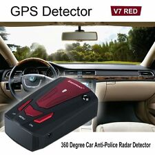 Car Radar Laser GUN Speed CAMERA LED GPS Detector Scanning Advanced Voice Alert