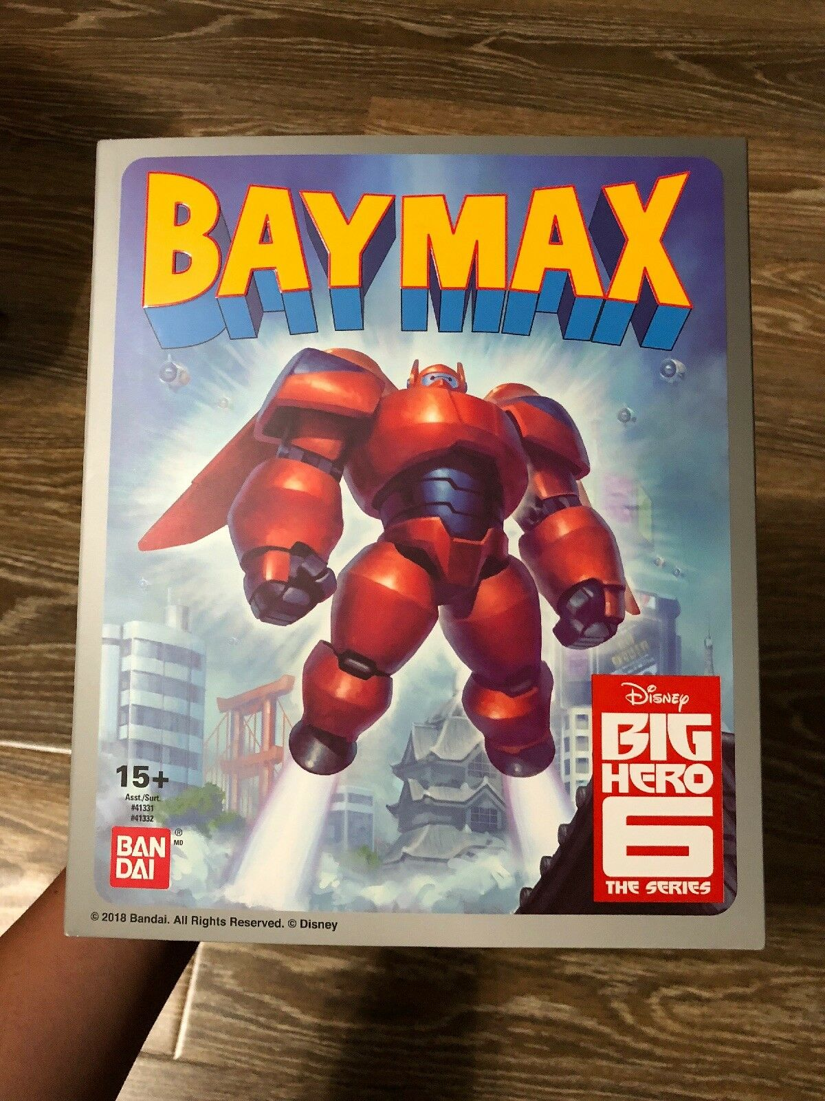 SDCC SDCC SDCC 2018 BANDAI EXCLUSIVE DIECAST ARMORED BAYMAX -- BIG HERO 6 444edc