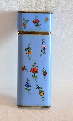 Vintage 1980s German Silver and Enamel Manicure Set
