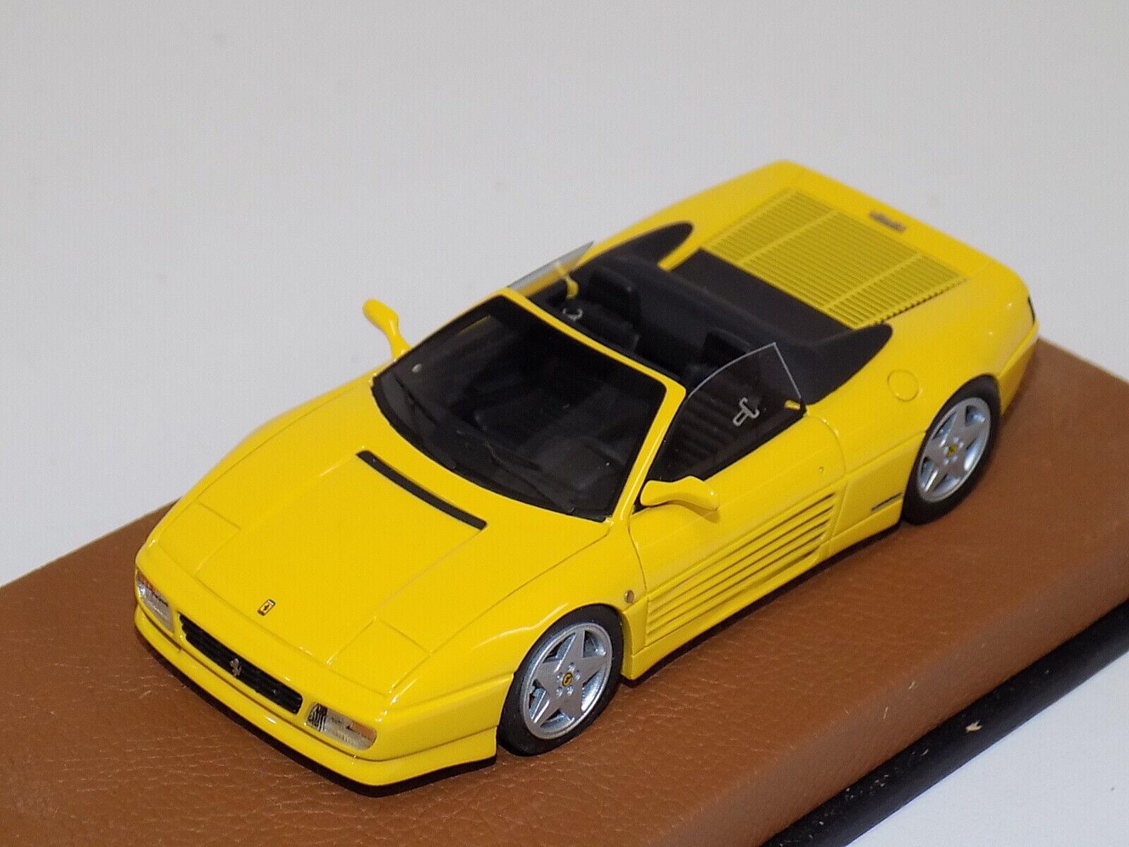 1 43 BBR Ferrari 348 Spider from 1989   in Gelb   BBR163B    GP146