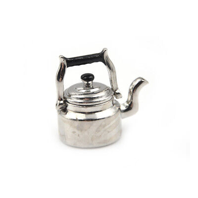 1:12 Dollhouse Miniature Metal Cooking Pot Cookware Doll House Accessories  FD