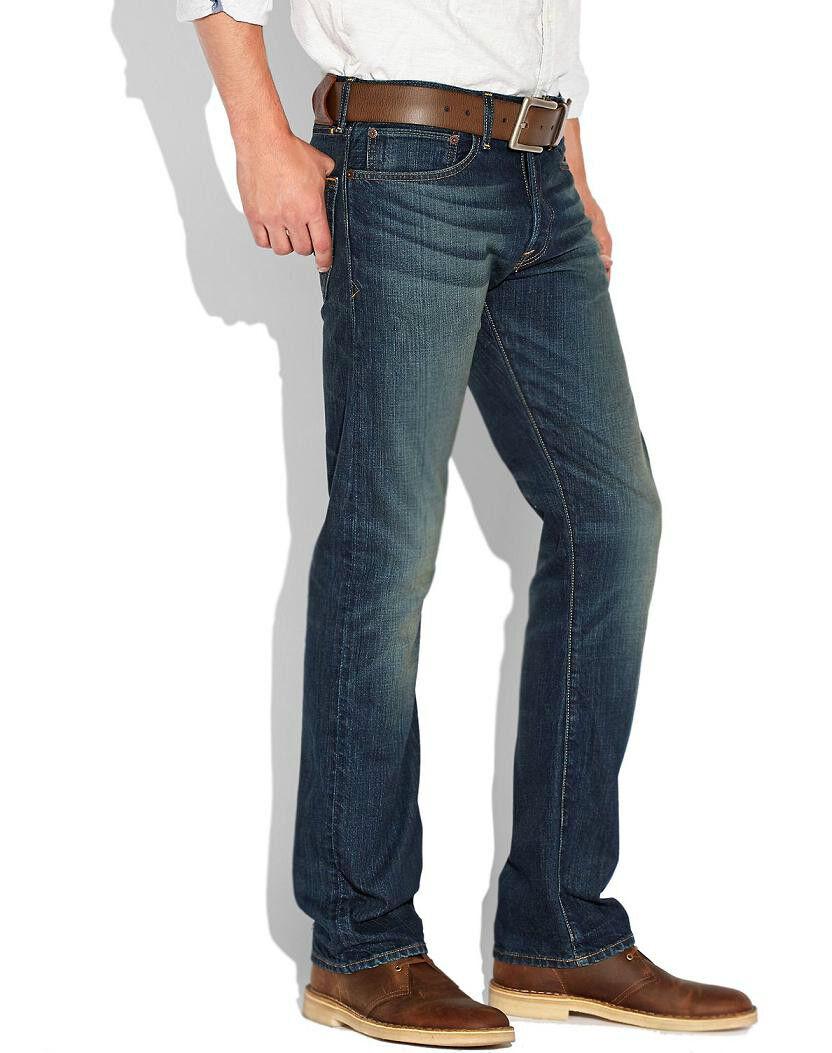 Lucky Brand 121 Legend Edition Hergestellt in USA Herren Schmal Gerade Jeans Neu