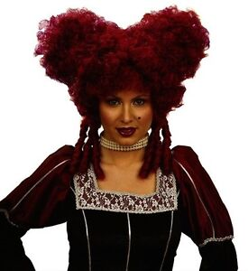 Parrucca Barocco LADY ROSSO CARNEVALE