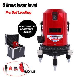 5-Linie-6-Punkt-kreuzlinienlaser-Laser-Level-Rotationslaser-Selbstnivellierung