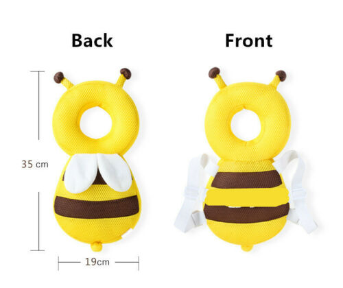 Baby Kid Toddler Walking Harness Crawling Head Protection Protector Safety Reins