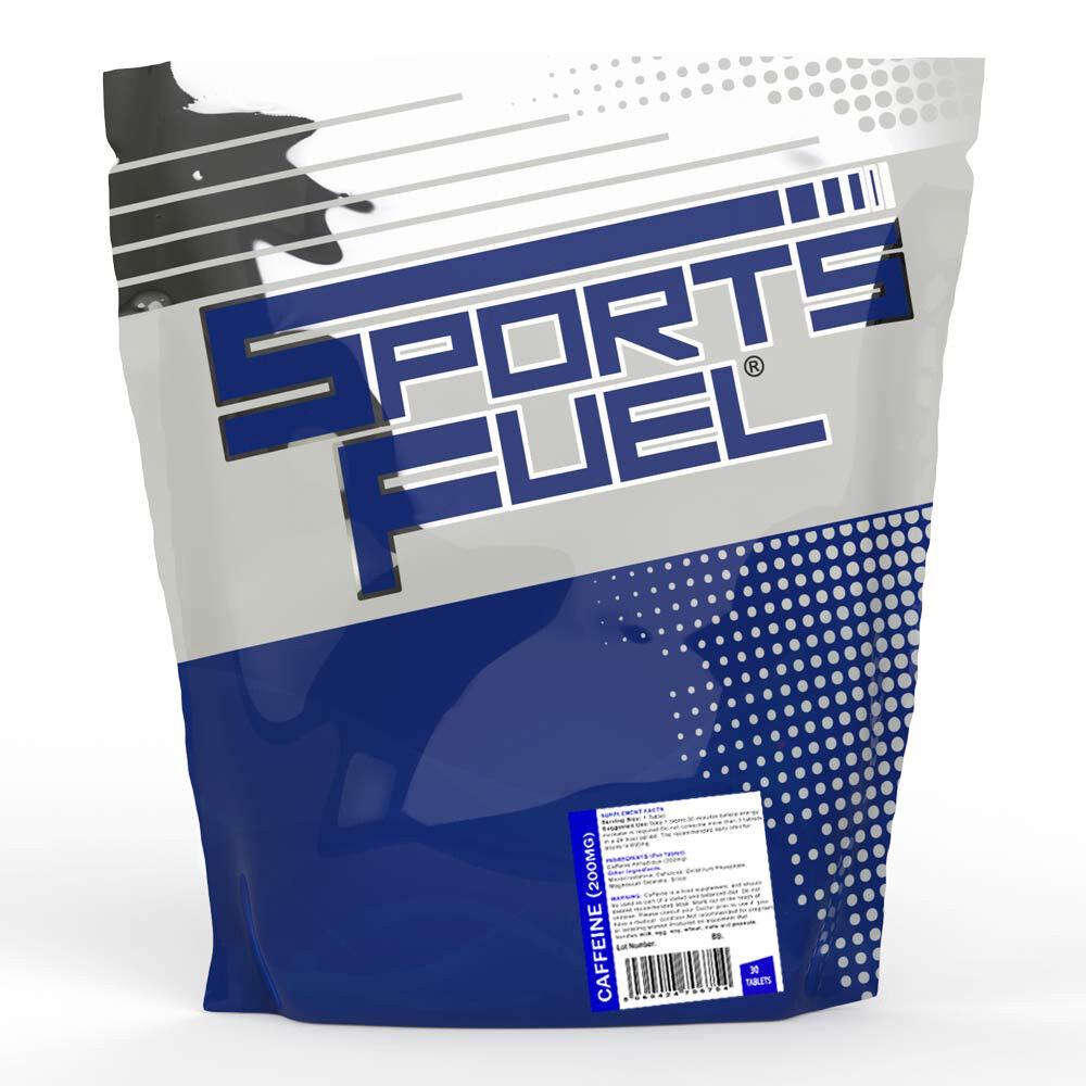 Sports FUEL CAFÉINE Comprimés 200 mg Comprimés 30 Comprimés CAFÉINE Extra Fort Pré Entraînement Énergie Pilules b0a7be