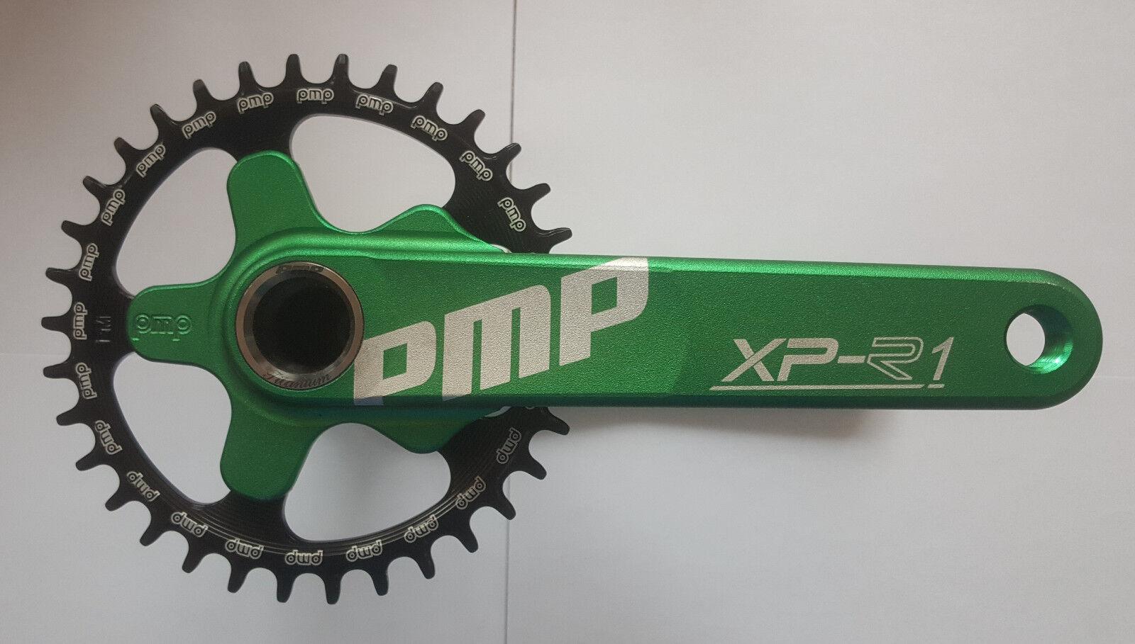 New PMP  XP-R1  Crankset MTB  172.5 mm. Made in Italia