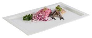 Gn 1/3 Assiette Images Buffet Plateau En Porcelaine Blanc Gastlando-afficher Le Titre D'origine