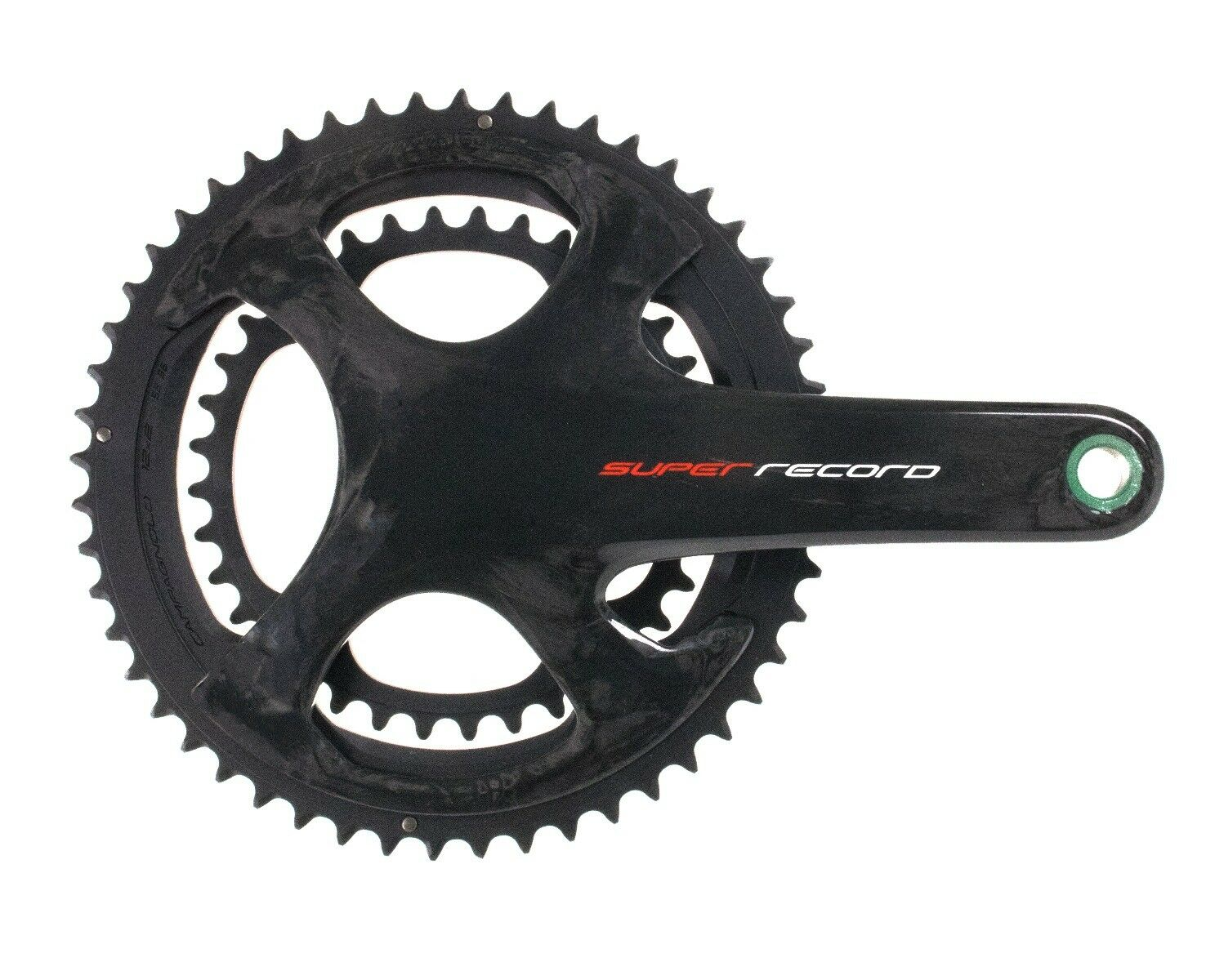 Campagnolo SUPER RECORD UT TI Carbon 12s crankset 172,5 mm 3652
