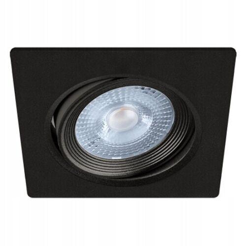LED Einbauspot MONI.D eckig Einbaustrahler 5W schwenkbar schwarz warmweiss
