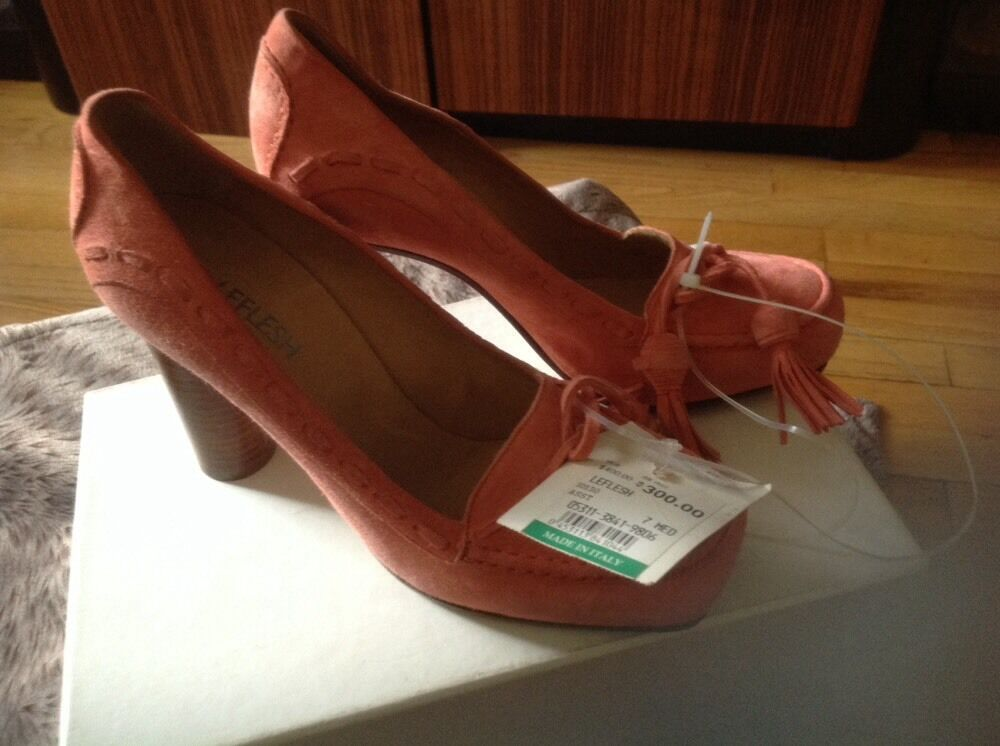 Authentic Manuela Morin High Heel shoes )Retail price  595 New Size 37,5