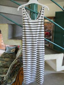 Robe Blanc Raye Bleu Taille 10ans Marque Kiabi Fille Occasion Ebay