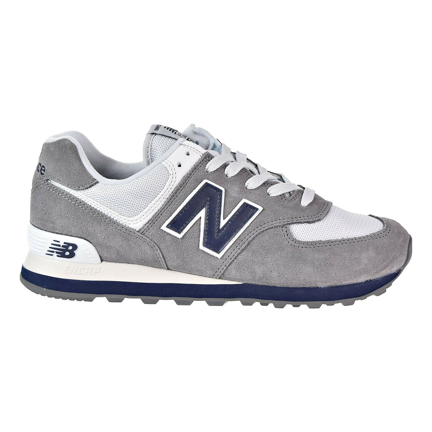 New Balance 574 Core Plus Men's shoes Grey bluee White ML574ESD