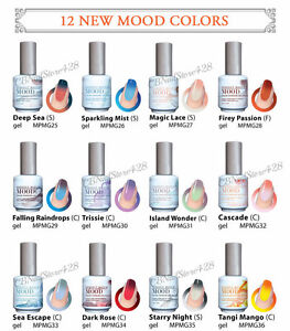 Image Is Loading New Lechat Perfect Match Mood Color Changing Gel