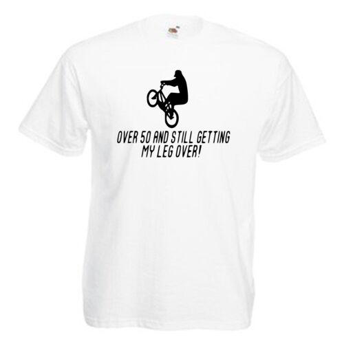 Plus de 50 drôle 50e Anniversaire Cadeau Adultes Homme T shirt 12 Couleurs Taille S 3XL