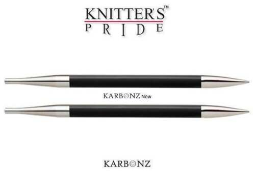 Knitter's Pride ::Karbonz Interchangeable Circular Tips:: 3 US / 3.25 mm / 5
