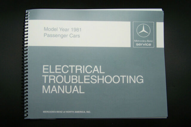 Mercedes 300sd Owners Electrical Manual W126 Wiring