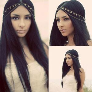 Kopfschmuck-Kette-Stirnband-Stirnkette-Haarschmuck-Haarkette-Hochzeit-Braut-WEB