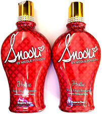 2 Snooki Hottie Sexy Tingle HOT Bronzer Skin Firming Tanning Bed Lotion by Supre