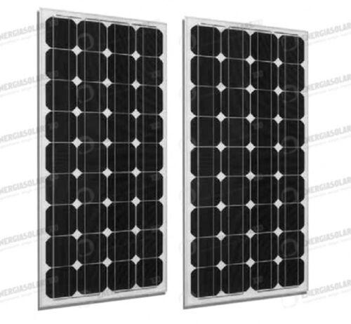 2 x placa solar fotovoltaica 300W 24V marco negro monocristalin