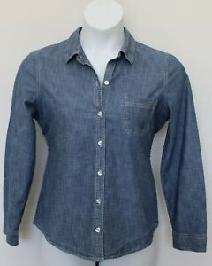 Ladies denim shirt SZ M