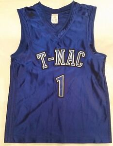 half off 24d63 bf00b Adidas T-Mac basketball jersey youth sz L (14-16) Tracy ...