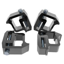 4x Mounting Clamps Truck Caps Camper Shell For Chevy Silverado Sierra 1500 2500 Fits Tacoma