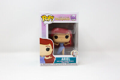 Funko POP IN STOCK Disney The Little Mermaid: Ariel w// Purple Dress #564