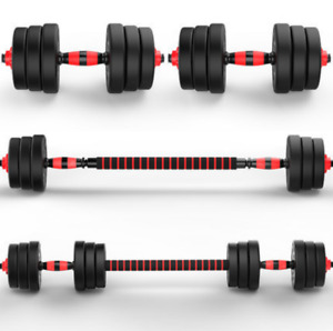 Exersci 20kg/30kg/40kg Adjustable Dumbbell & Barbell Set