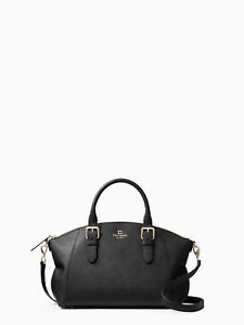 kate spade new york Charlotte Street Small Sloan Black NWT  398 ... f0321ea2abbc6