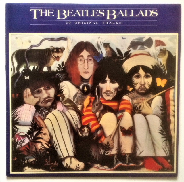 LP, The Beatles, Ballads, Rock, The Beatles Ballads er et…