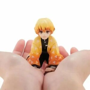 Anime-Demon-Slayer-Kimetsu-No-Yaiba-Agatsuma-Zenitsu-Action-Figure-PVC-Model-Toy