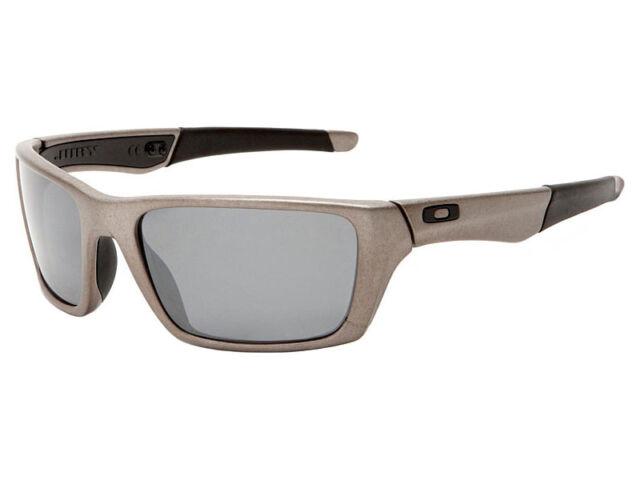oakley jury sunglasses polarized distressed silver black iridium ebay rh ebay com