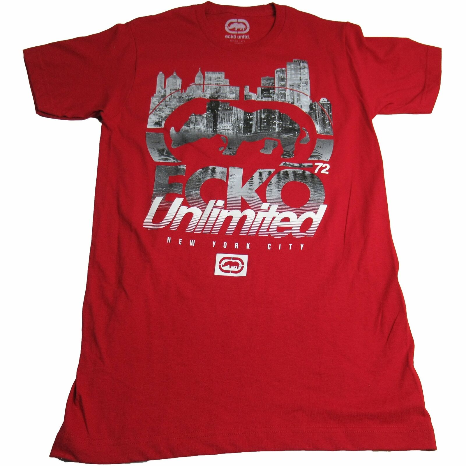 Ecko Unltd. Unlimited Men's Street Reflections Logo Printed Graphic Tee T-Shirt 6