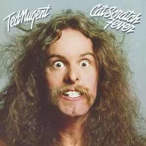 Ted-Nugent-Cat-Scratch-Fever-Limited-Blue-Colored-Vinyl-New-Vinyl-LP-Blue