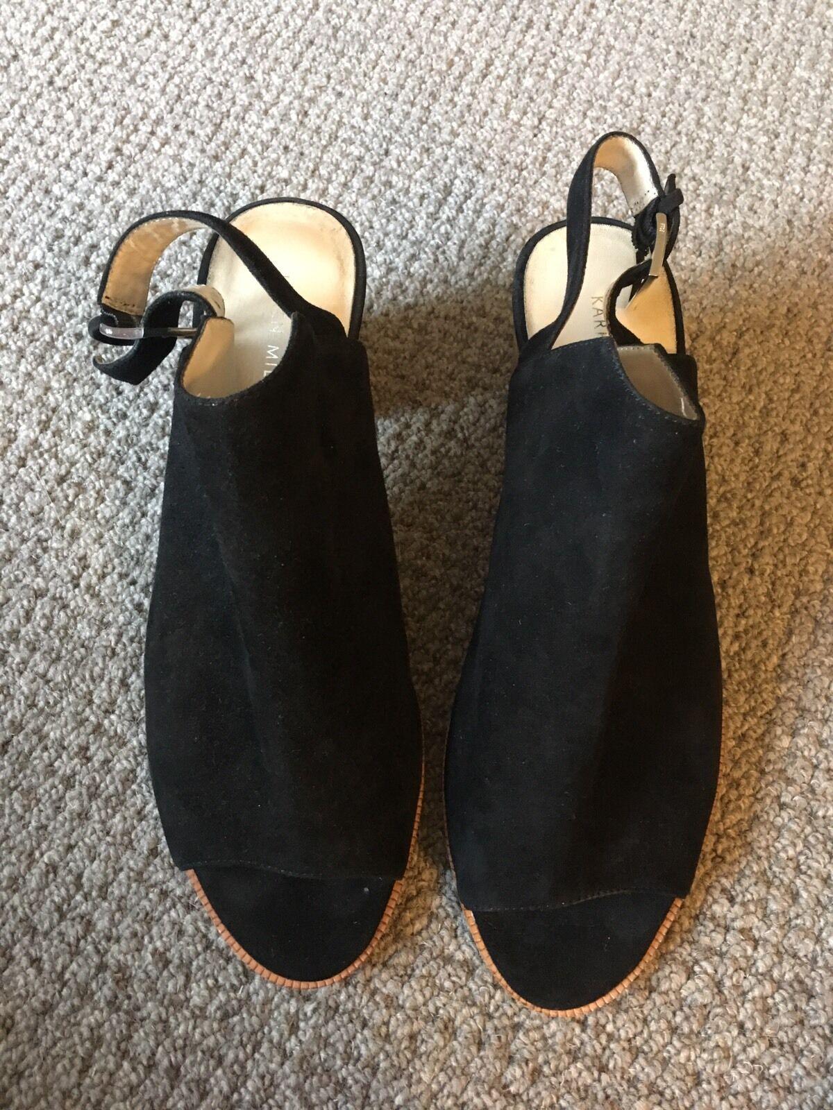 Karen Millen Black Heels EU39 UK6