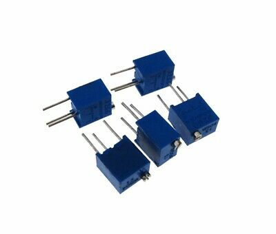 pack of 5 Details about  /10K Ohm Multi-turn Trimmable potentiometer 3266w