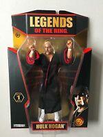 Tna Legends Of The Ring Hulk Hogan Wrestling Figure Wwe/wwf Classic Superstars