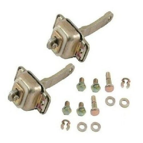 Porsche 911 912 Set of 2 Genuine Door Stops with Hardware Kit