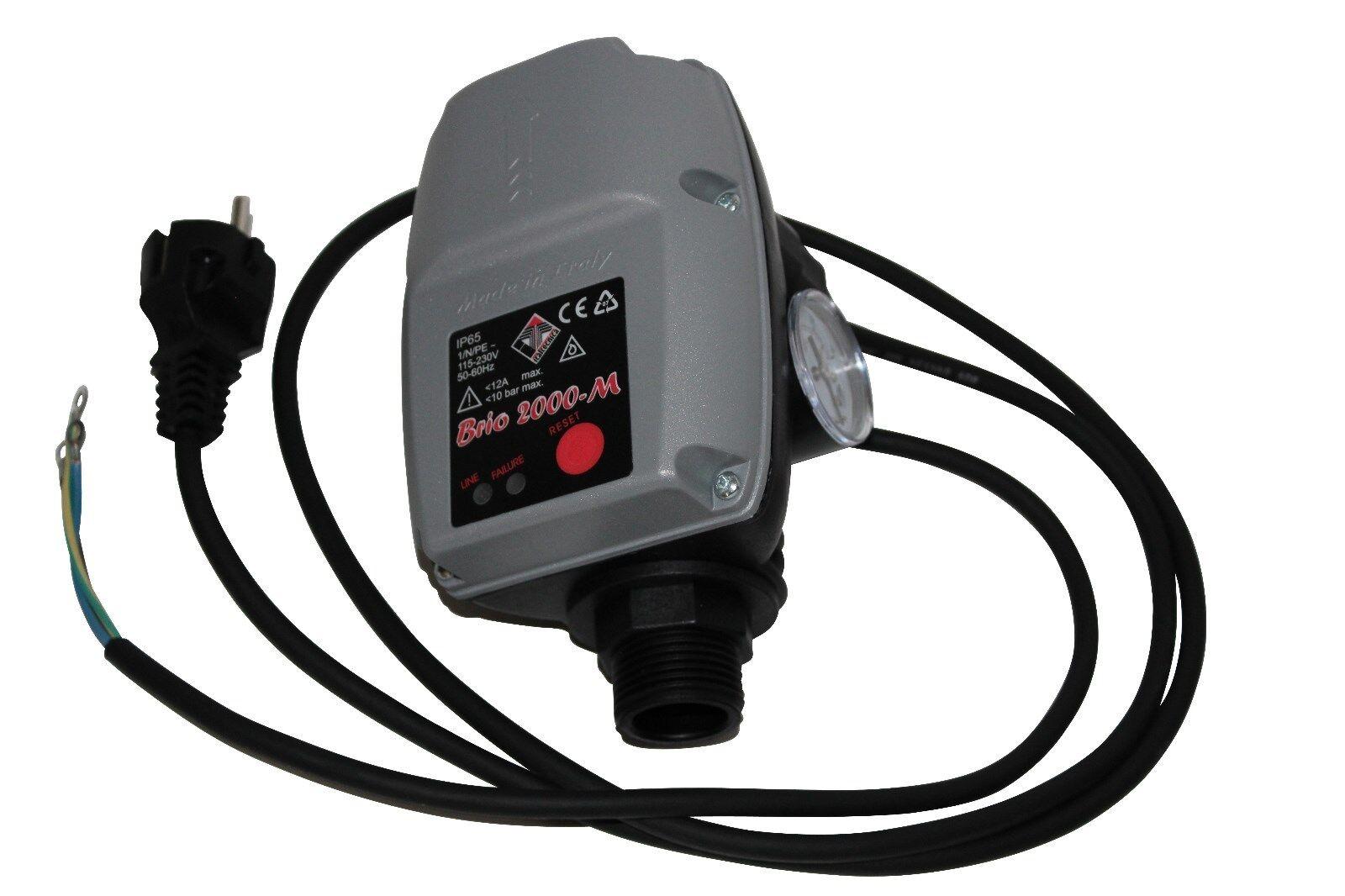 Brio 2000M con Cable Control de la Bomba Made In  Interruptor a Presión