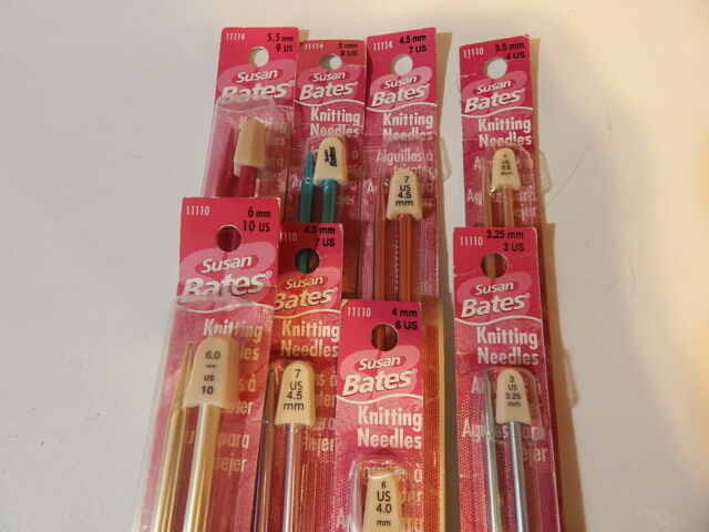 3.75 MM DOUBLE POINT KNITTING NEEDLES SUSAN BATES SIZE 5