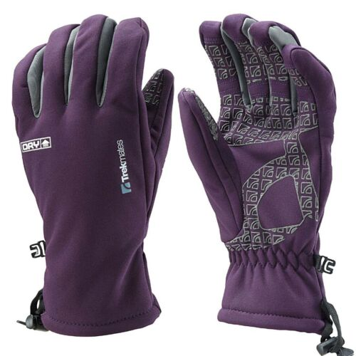 Bekleidung Trekmates Robinson XS Damen Soft Shell Handschuh Fingerhandschuh mit Dry Membran Camping & Outdoor