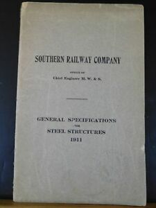 Southern-Railway-Co-General-Specifications-for-Steel-Structures-1911