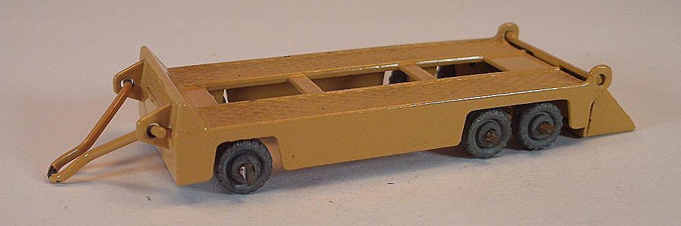 Matchbox regular Wheels nº 16 a Atlantic tráiler tan MTW Lesney 2