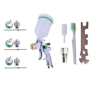 HVLP-Auto-Paint-Air-Spray-Gun-Kit-Gravity-Feed-Car-Primer-1-4MM-2-0MM-Nozzle