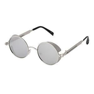 New-Steampunk-Glasses-Cyber-Round-Retro-Goggles-Vintage-Gothic-Sunglasses-Spring