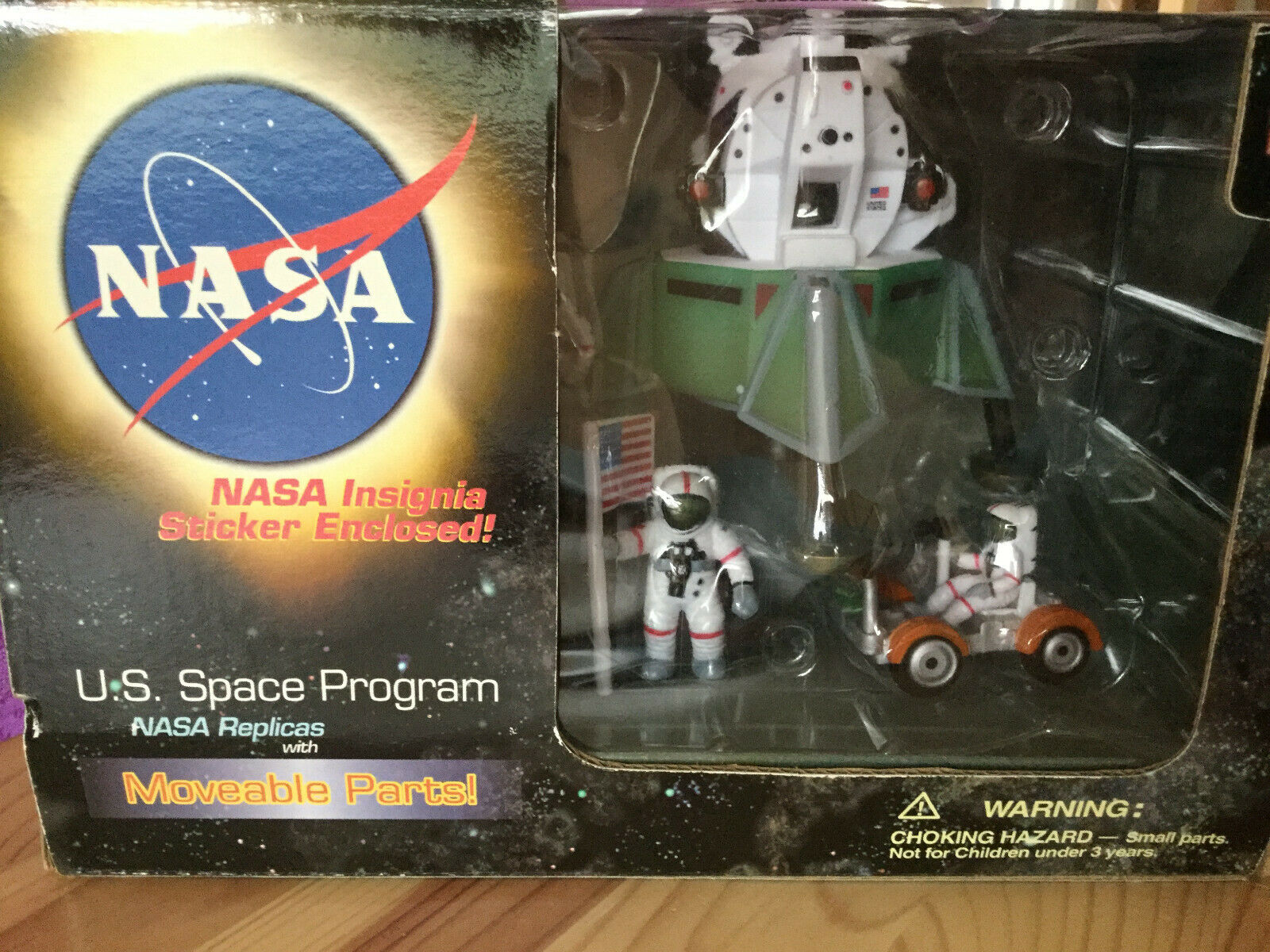 Play Visions NASA Replicas Lunar Modual with Austronauts & Land Rover