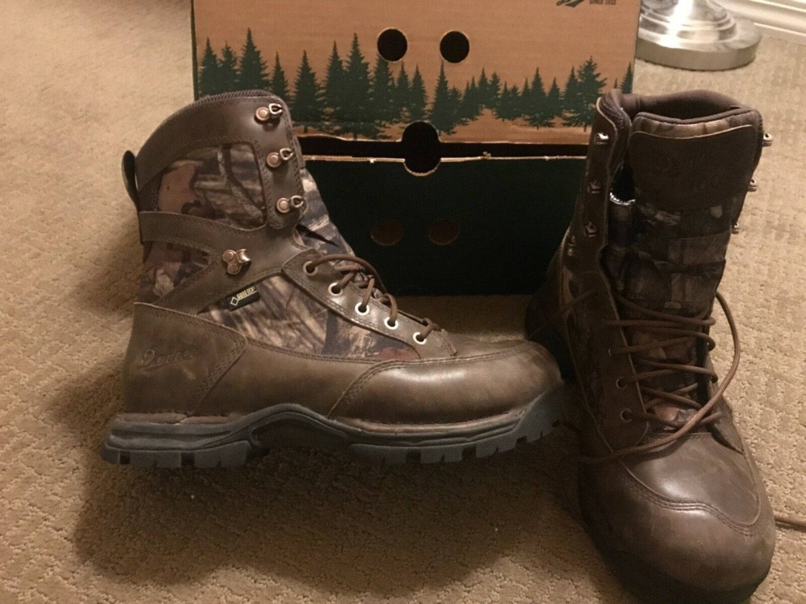 Danner Pronghorn 8  In. Mossy Oak Waterproof Insulated Hunting Boot  size 9.5  discount
