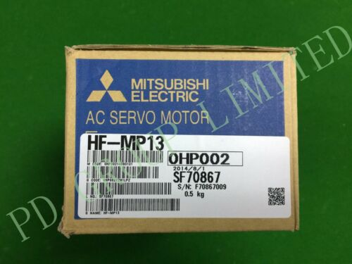 NEW In Box Mitsubishi HF-MP13 MOTOR FREE INT SHIPPING AND 1 YEAR WARRANTY