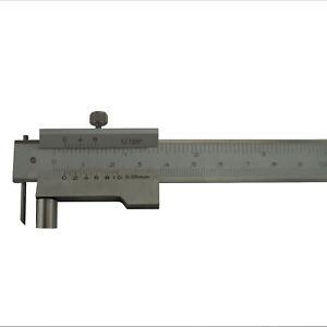 Industrie-Anreiss-Messschieber-Anreissmessschieber-mit-Rolle-Streichmass-200-mm